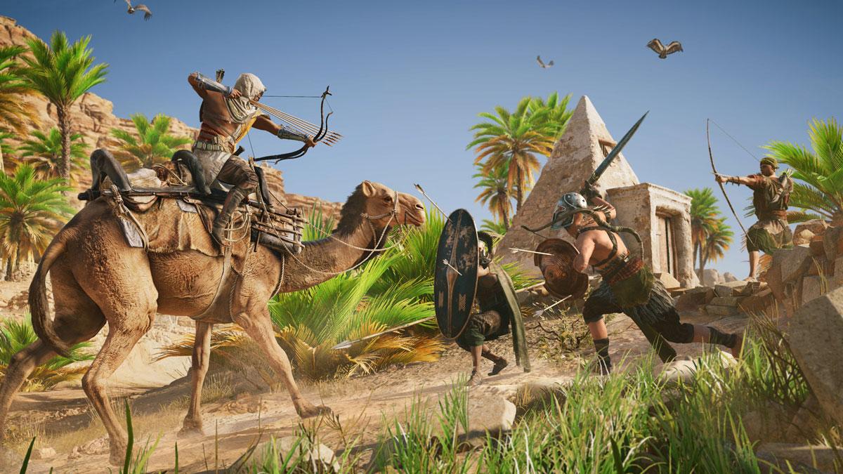 فارسی ساز Assassins Creed: Origins برای PS4