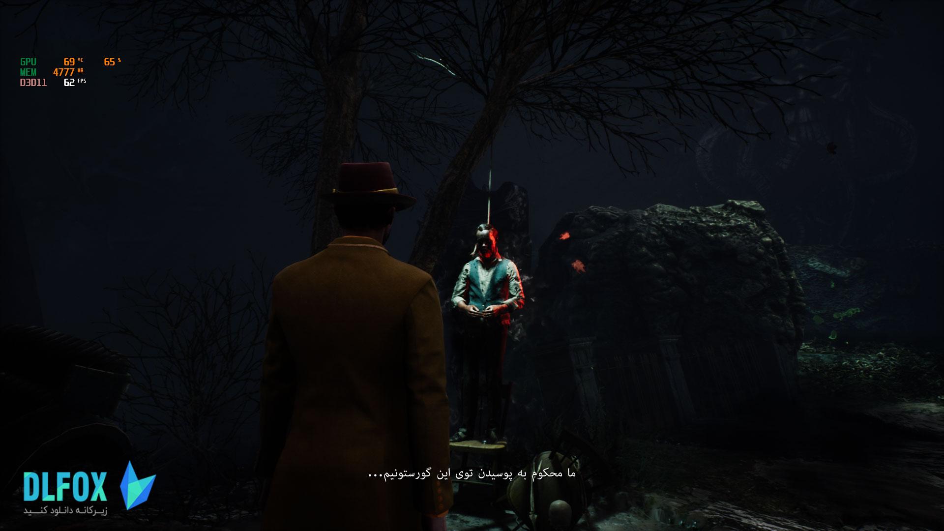فارسی ساز بازی The Sinking City برای PS4