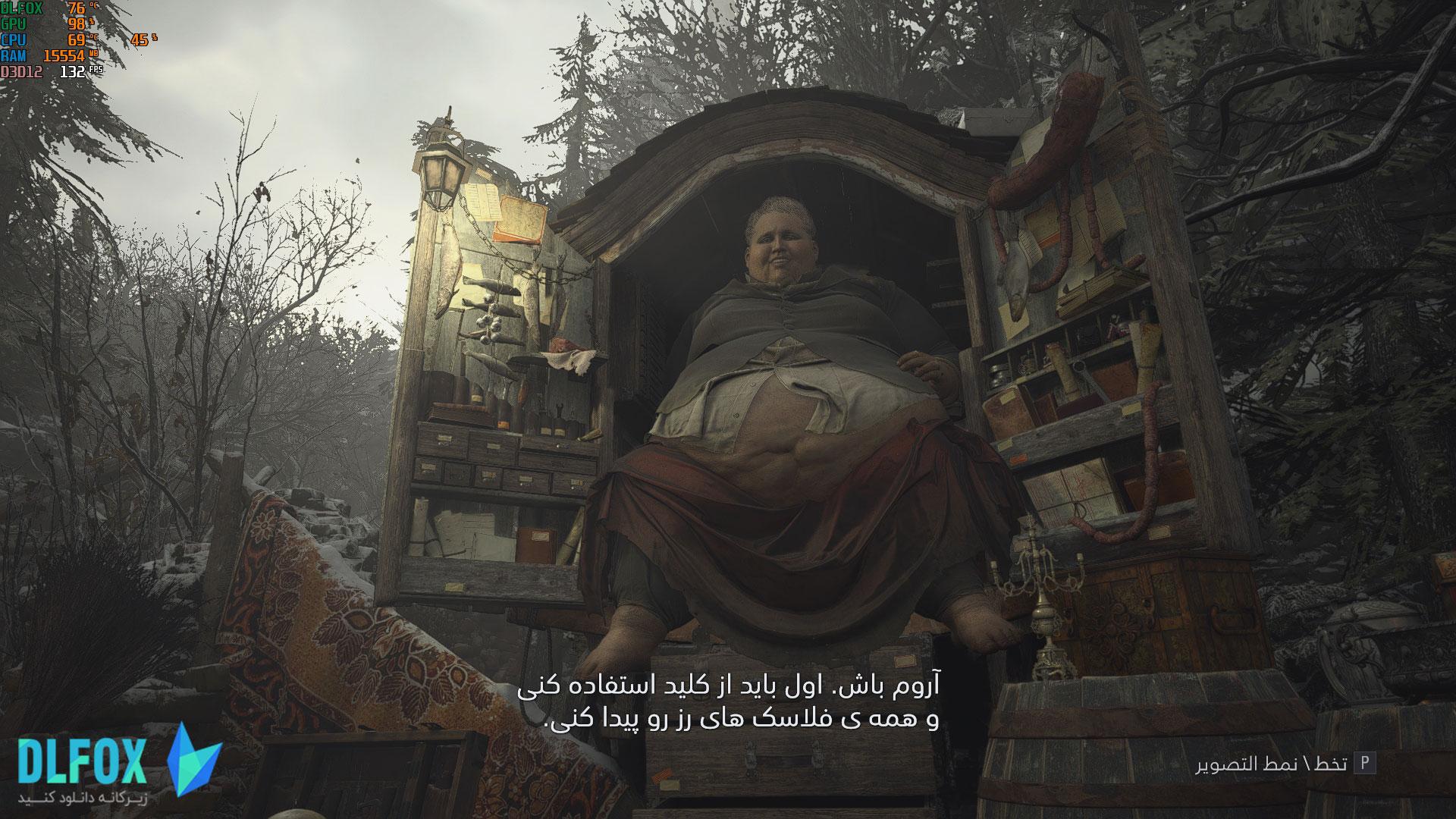 فارسی ساز بازی Resident Evil Village