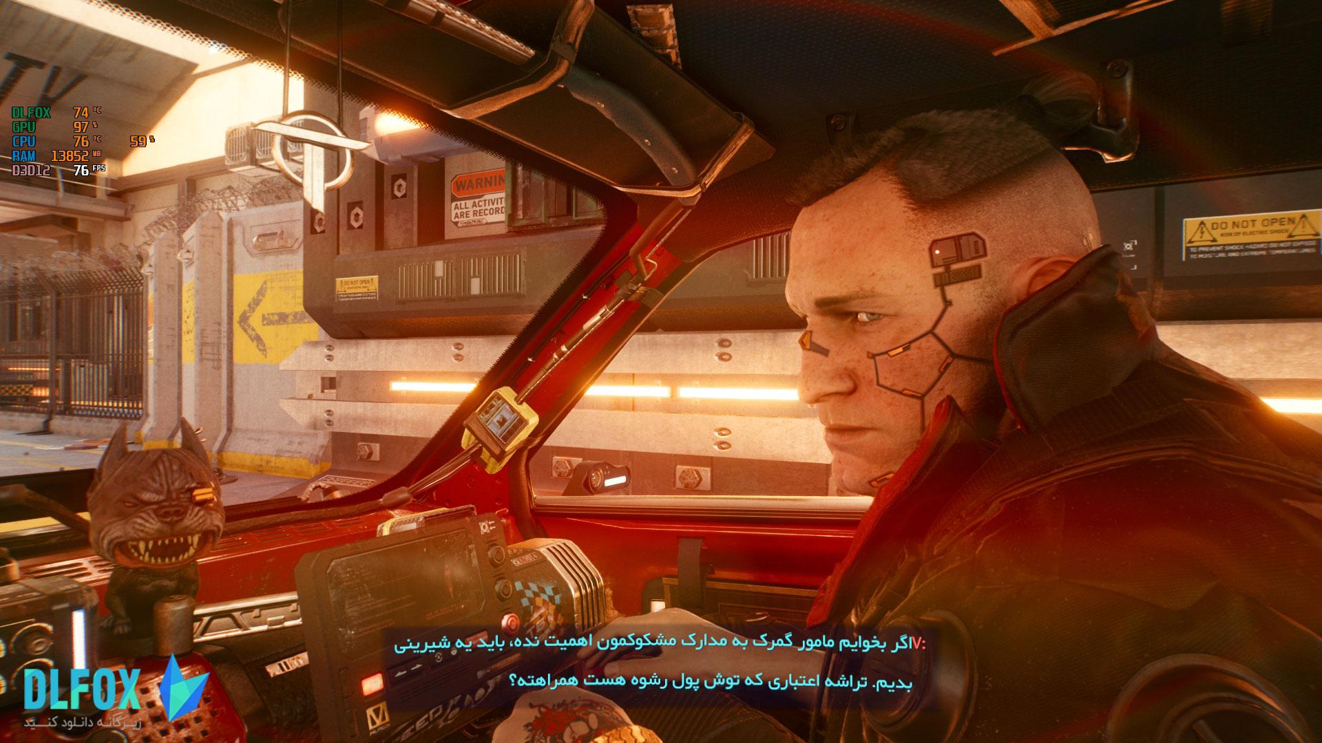 فارسی ساز بازی Cyberpunk 2077 برای PC و PS4