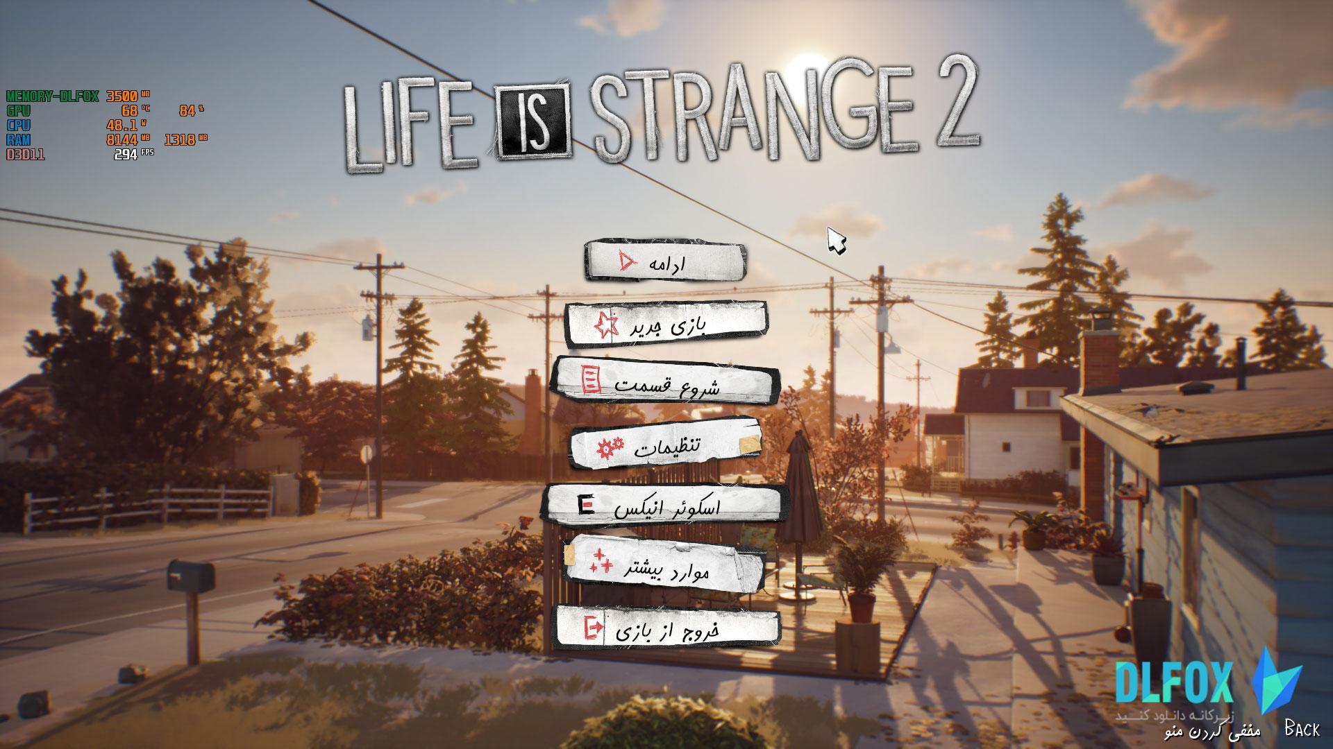 فارسی ساز بازی Life is Strange 2 Complete Season برای PS4
