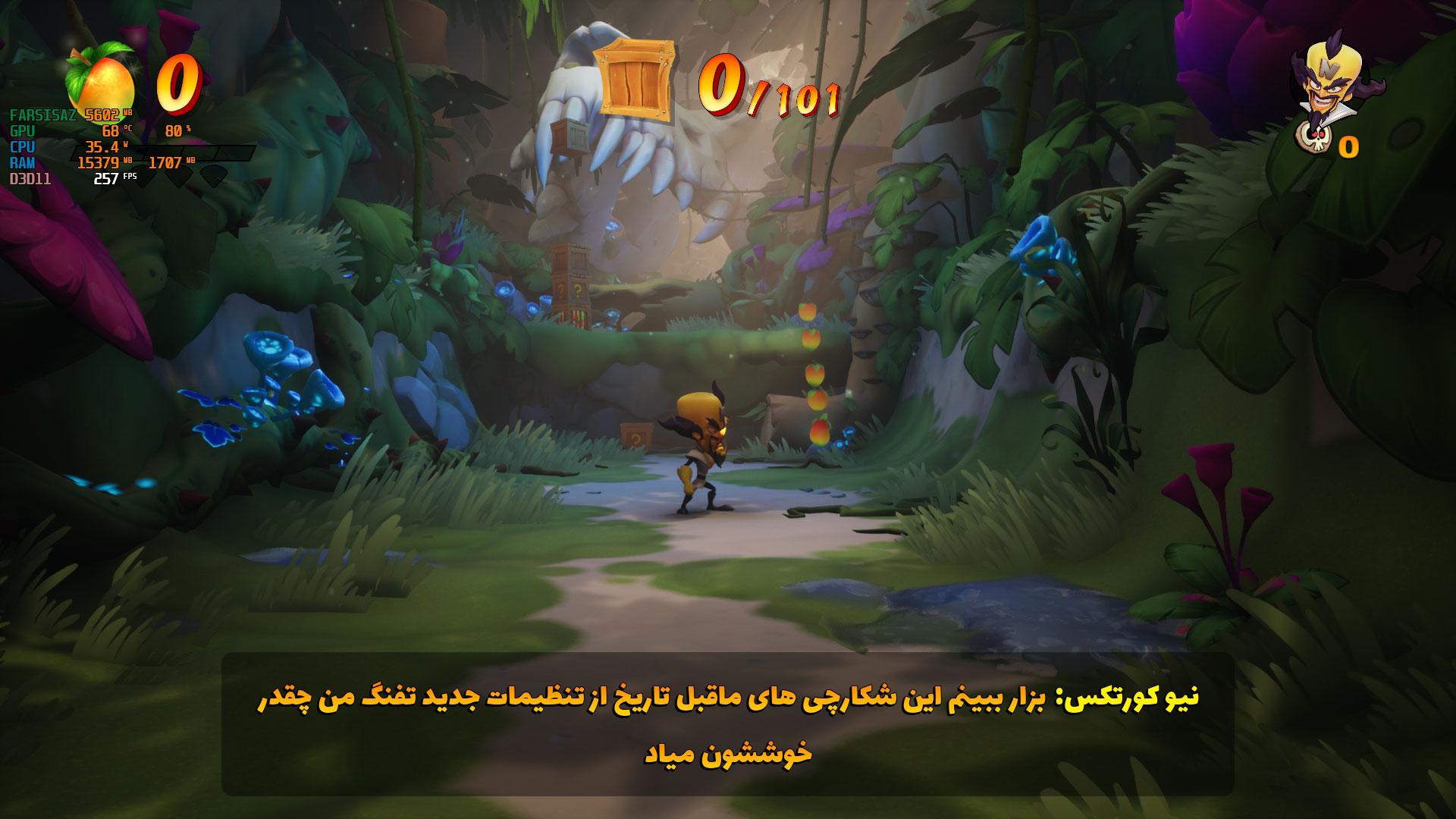فارسی ساز بازی Crash Bandicoot 4 Its About Time برای PC