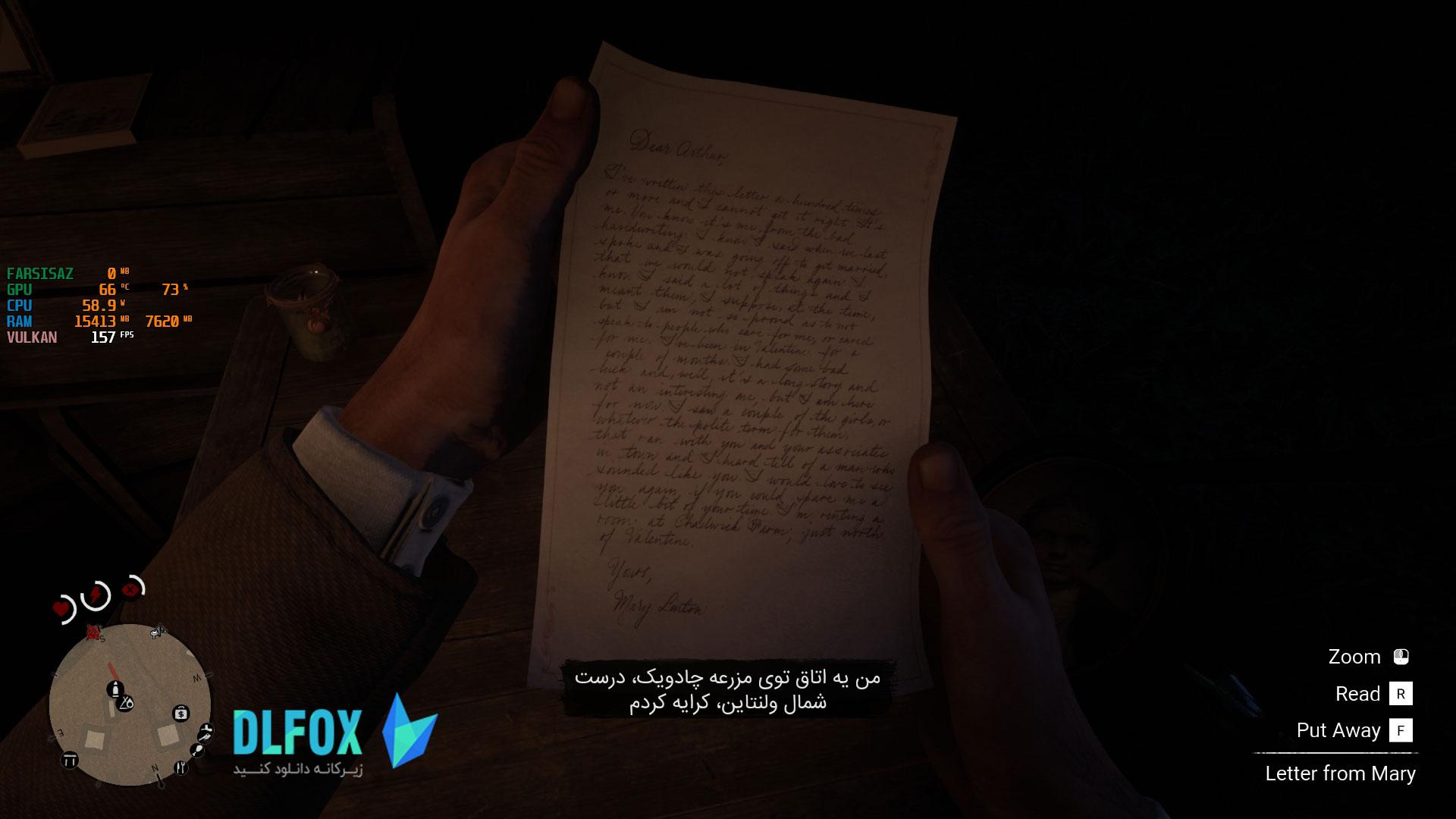 فارسی ساز رایگان Red Dead Redemption 2 برای PC